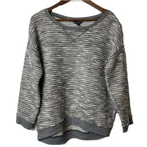 American Eagle gray heathered sweater Large